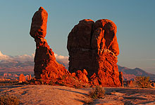 Balancing Rock Arches National Park