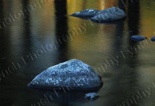 Fall Reflections On Creek