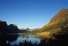 St. Mary Lake At Sunrise