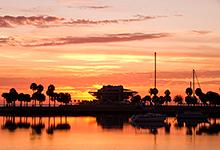 St. Pete Pier, Vinoy Hotel Boat Basin,Florida