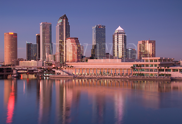 Tampa Skyline, Tampa Florida