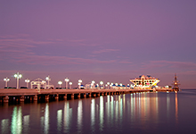 The St. Petersburg Pier, Florida